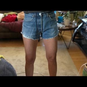 Levi's Shorts - vintage high waisted levi's shorts